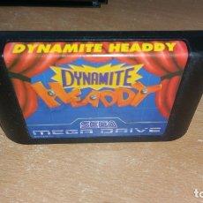 Videojuegos y Consolas: DYNAMITE HEADDY SEGA MEGA DRIVE JAP. Lote 180173628