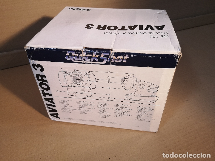 Videojuegos y Consolas: QUICKSHOT AVIATOR 3 QS-156 | MEGA DRIVE - Foto 2 - 180202481