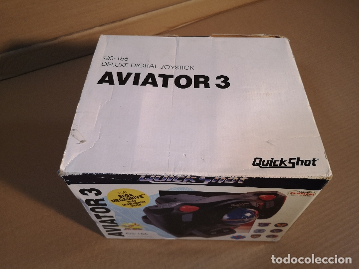 Videojuegos y Consolas: QUICKSHOT AVIATOR 3 QS-156 | MEGA DRIVE - Foto 6 - 180202481