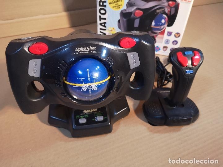 Videojuegos y Consolas: QUICKSHOT AVIATOR 3 QS-156 | MEGA DRIVE - Foto 7 - 180202481