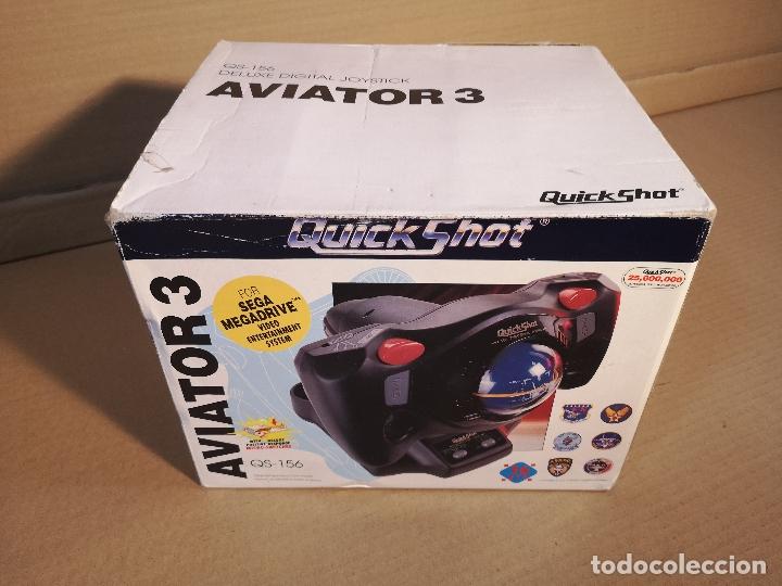 QUICKSHOT AVIATOR 3 QS-156 | MEGA DRIVE (Juguetes - Videojuegos y Consolas - Sega - MegaDrive)