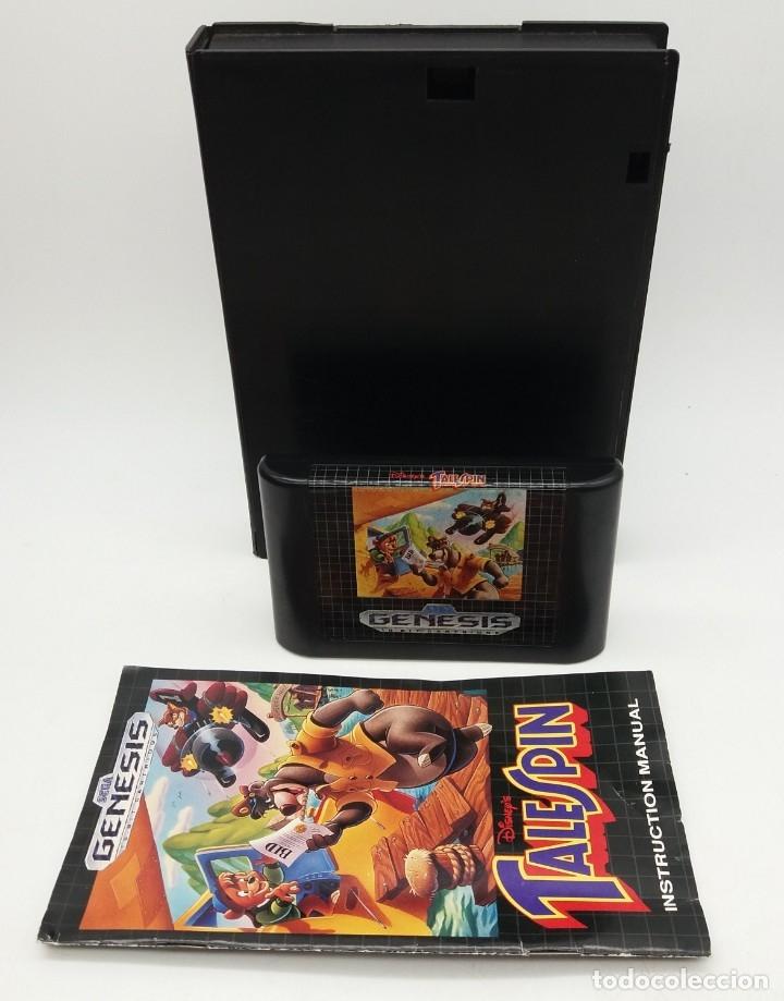 Videojuegos y Consolas: GENESIS Disneys Talespin para MEGADRIVE - Foto 2 - 180234542