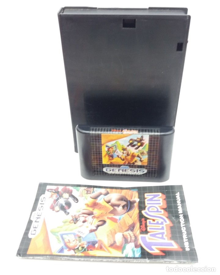 Videojuegos y Consolas: GENESIS Disneys Talespin para MEGADRIVE - Foto 3 - 180234542