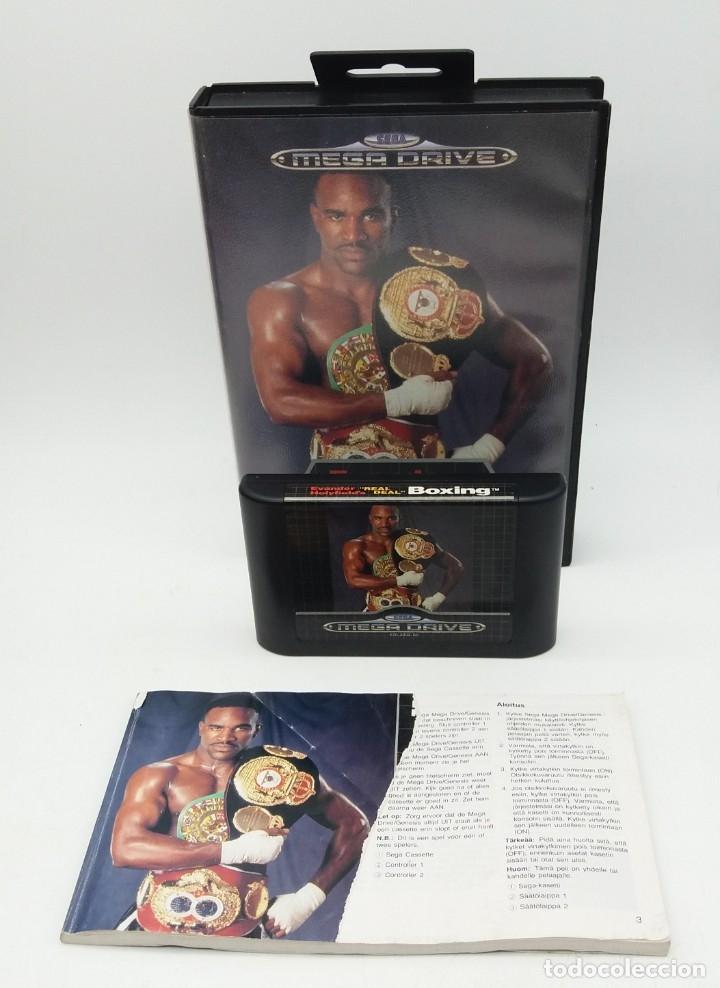 EVANDER HOLIFIELD'S ''REAL DEAL'' BOXING PARA MEGADRIVE (Juguetes - Videojuegos y Consolas - Sega - MegaDrive)
