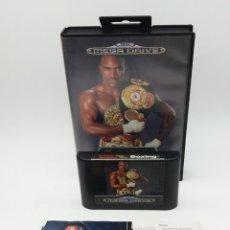 Videojuegos y Consolas: EVANDER HOLIFIELD'S ''REAL DEAL'' BOXING PARA MEGADRIVE. Lote 180235046
