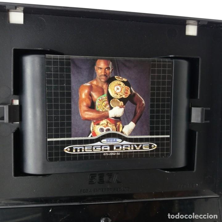 Videojuegos y Consolas: Evander Holifields REAL DEAL Boxing para MEGADRIVE - Foto 3 - 180235046