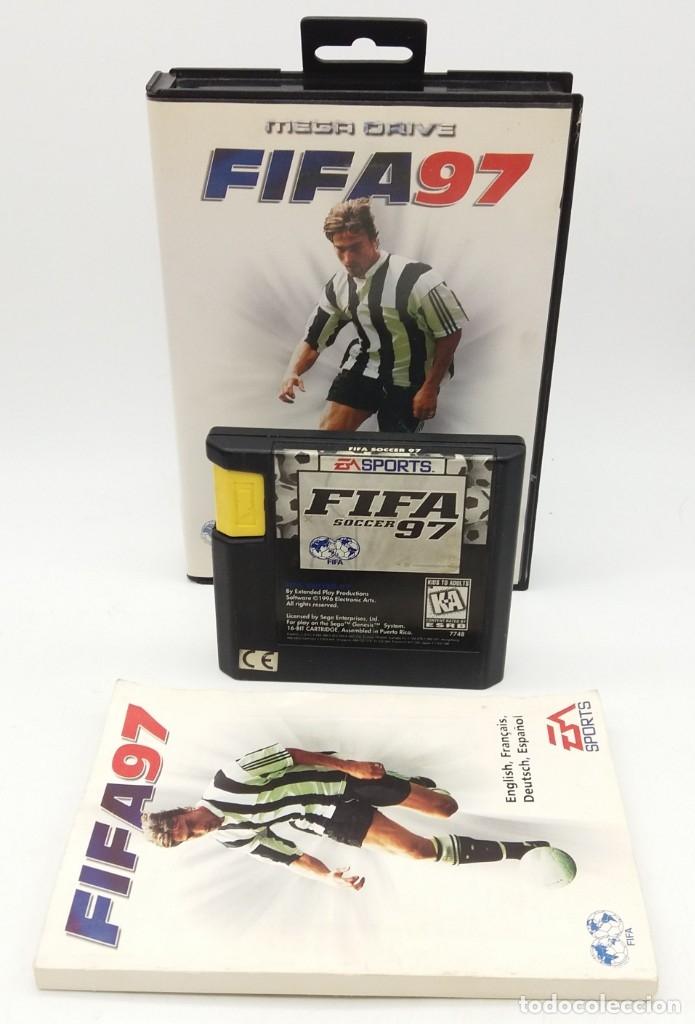 FIFA 97 PARA MEGADRIVE (Juguetes - Videojuegos y Consolas - Sega - MegaDrive)