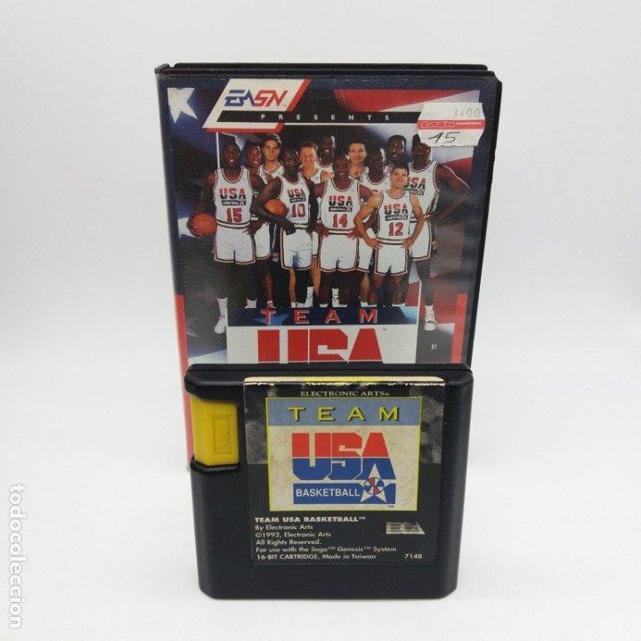 TEAM USA BASKETBALL BARCELONA 92 PARA MEGADRIVE (Juguetes - Videojuegos y Consolas - Sega - MegaDrive)