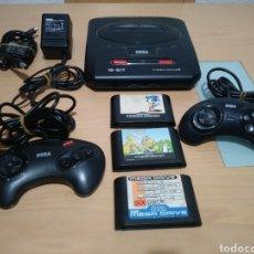 Videojuegos y Consolas: SEGA MEGA DRIVE 2+3 JUEGOS Y 2 MANDOS.. Lote 180284403