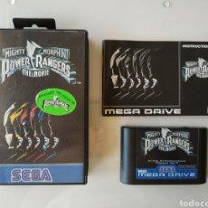 Videojuegos y Consolas: MIGHTY MORPHIN POWER RANGERS THE MOVIE SEGA MEGA DRIVE MEGADRIVE. Lote 181110098