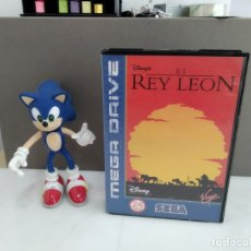 Videojuegos y Consolas: JUEGO PARA SEGA MEGADRIVE EL REY LEON. Lote 181338520