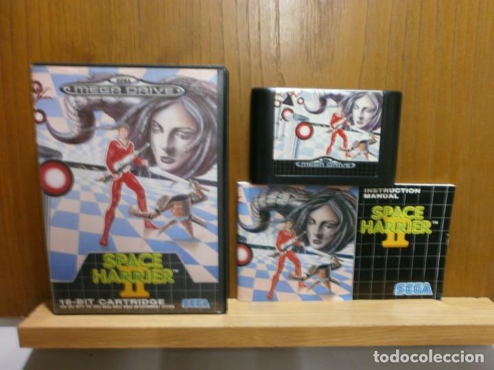 SEGA MEGA DRIVE SPACE HARRIER 2 (Juguetes - Videojuegos y Consolas - Sega - MegaDrive)