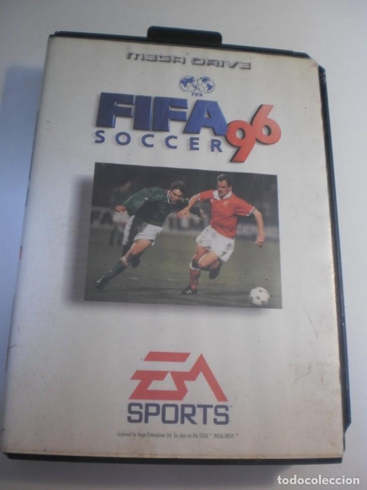 FIFA SOCCER 96. JUEGO MEGA DRIVE SEGA 16 - BIT, SIN MANUAL (ESTADO NORMAL) (Juguetes - Videojuegos y Consolas - Sega - MegaDrive)