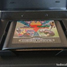 Videojuegos y Consolas: JUEGO MEGA GAMES I WORLD CUP COLUMNS HANG ON SEGA MEGA DRIVE. Lote 182732508