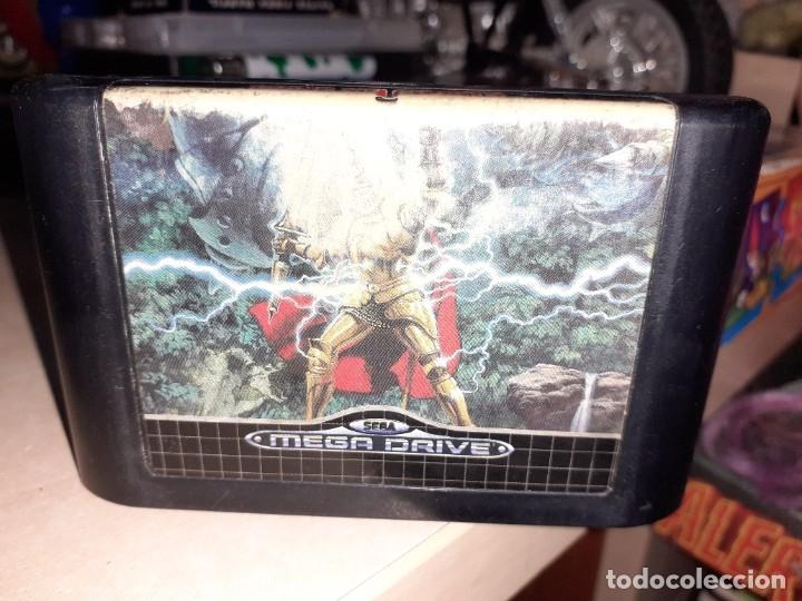 Videojuegos y Consolas: Lote 3 video juegos para SEGA Mega Drive.Ghouls`n Ghosts,Sonic y Atlanta 96. - Foto 2 - 182953562