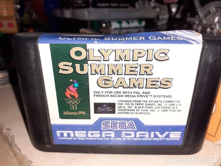 Videojuegos y Consolas: Lote 3 video juegos para SEGA Mega Drive.Ghouls`n Ghosts,Sonic y Atlanta 96. - Foto 3 - 182953562