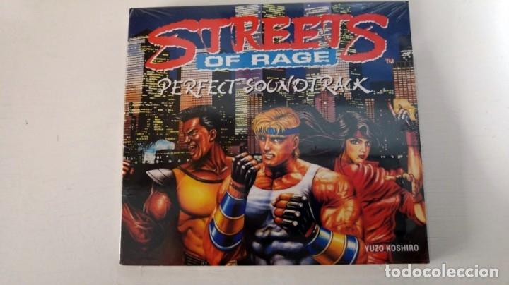 Videojuegos y Consolas: PACK ESPECIAL Street of Rage (Megadrive) juego de imanes + CD Banda sonora - Foto 3 - 183084436