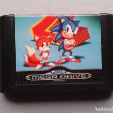Jeux Vidéo et Consoles: JUEGO SEGA MEGA DRIVE SONIC 2 THE HEDGEHOG SOLO CARTUCHO PAL R9650. Lote 183258856