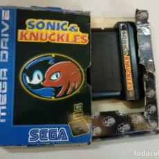 Videojuegos y Consolas: SONIC & KNUCKLES - SEGA MEGADRIVE MEGA DRIVE - PAL ESP . Lote 183279442