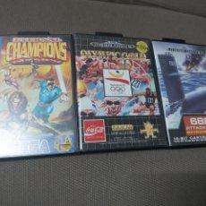 Videojuegos y Consolas: JUEGOS MEGADRIVE SEGA MEGA DRIVE. Lote 183442120
