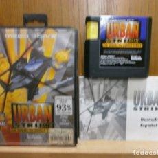Jeux Vidéo et Consoles: JUEGO SEGA MEGA DRIVE URBAN STRIKE 100%100 ORIGINAL COMPLETO Y EN BUEN ESTADO. Lote 184083975