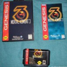 Videojuegos y Consolas: MORTAL KOMBAT 3 COMPLETO SEGA MEGA DRIVE MEGADRIVE GENESIS REPRO CLON. Lote 184101922