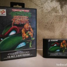 Videojuegos y Consolas: TURTLES TOURNAMENT FIGHTERS MEGA DRIVE MEGADRIVE. Lote 184222878