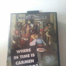 Videojogos e Consolas: WHERE IN TIME IS CARMEN SANDIEGO? PARA MEGADRIVE ENTRE Y MIRE MIS OTROS JUEGOS!. Lote 184358807