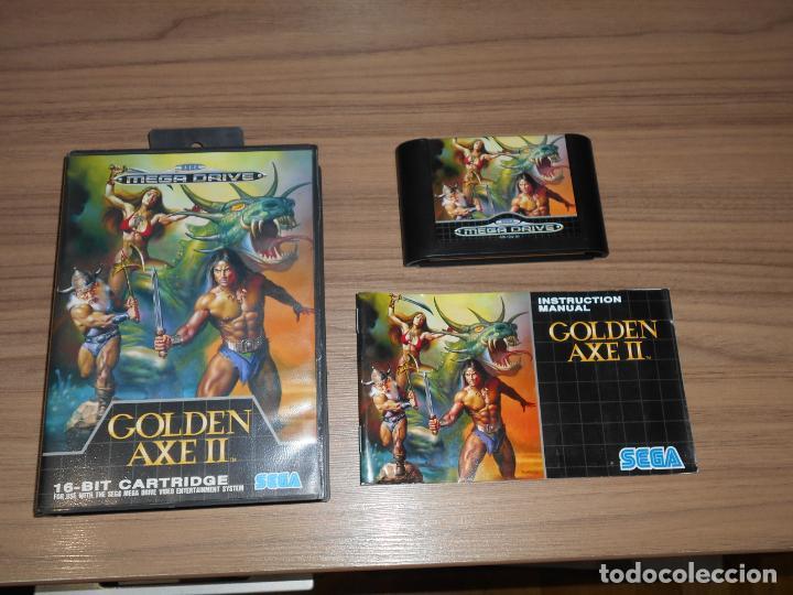 GOLDEN AXE II COMPLETO SEGA MEGADRIVE PAL ESPAÑA MEGA DRIVE (Juguetes - Videojuegos y Consolas - Sega - MegaDrive)