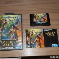 Videojuegos y Consolas: GOLDEN AXE II COMPLETO SEGA MEGADRIVE PAL ESPAÑA MEGA DRIVE. Lote 185784760
