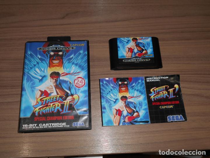 STREET FIGHTER II SPECIAL CHAMPION EDITION SEGA MEGADRIVE PAL ESPAÑA MEGA DRIVE COMPLETO (Juguetes - Videojuegos y Consolas - Sega - MegaDrive)