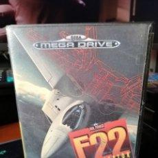 Videojuegos y Consolas: F22 INTERCEPTOR PARA MEGADRIVE. Lote 186407737