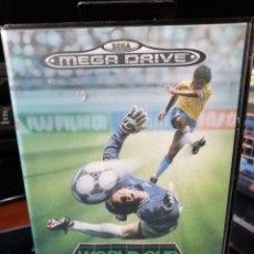Videojuegos y Consolas: WORLD CUP ITALIA 90 PARA MEGADRIVE. Lote 187080487