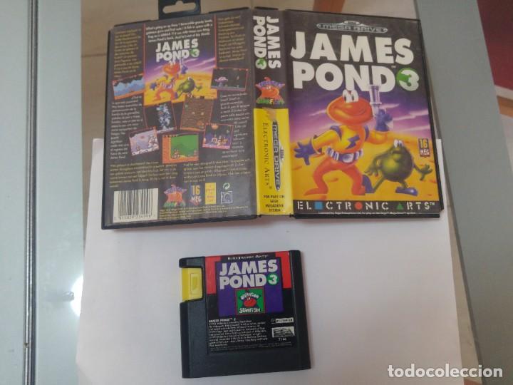 JAMES POND 3 III SEGA MEGADRIVE PAL-EUROPA (Juguetes - Videojuegos y Consolas - Sega - MegaDrive)