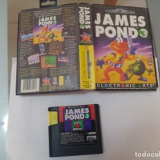 Videojuegos y Consolas: JAMES POND 3 III SEGA MEGADRIVE PAL-EUROPA. Lote 187495005