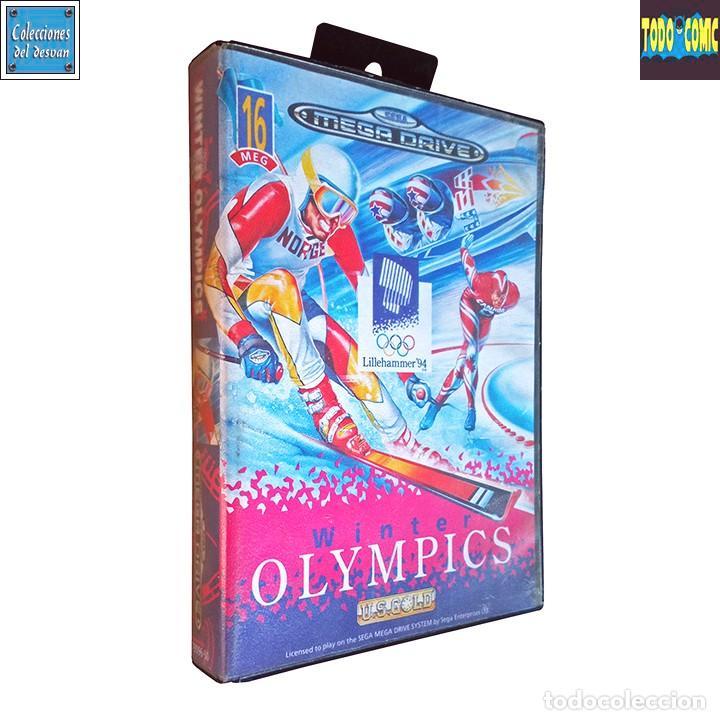 WINTER OLYMPICS / JUEGO SEGA MEGA DRIVE MEGADRIVE / PAL / U. S. GOLD 1993 (Juguetes - Videojuegos y Consolas - Sega - MegaDrive)