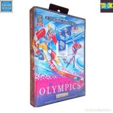 Videojuegos y Consolas: WINTER OLYMPICS / JUEGO SEGA MEGA DRIVE MEGADRIVE / PAL / U. S. GOLD 1993. Lote 189366633