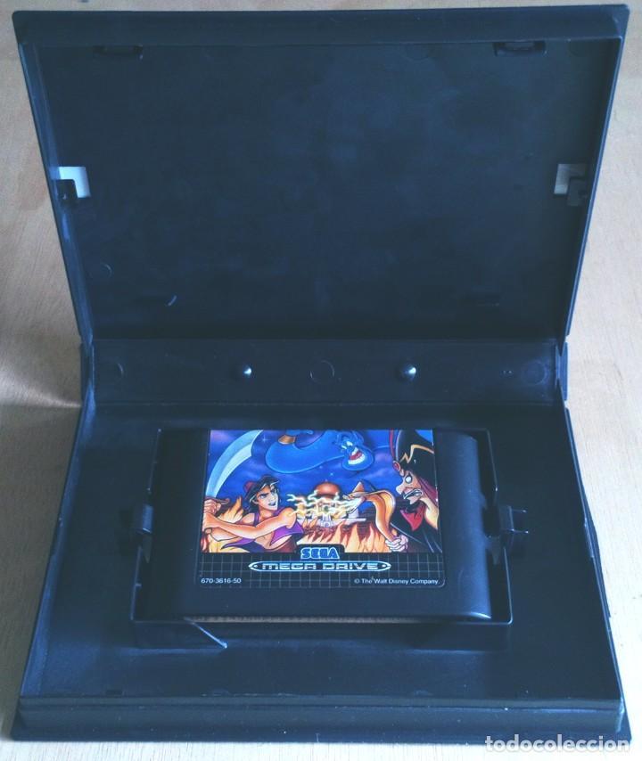 Videojuegos y Consolas: Aladdin / Juego Sega Mega Drive Megadrive / PAL / Disney Virgin 1993 - Foto 3 - 189364998