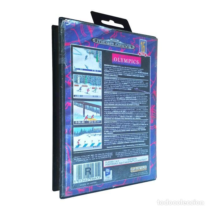 Videojuegos y Consolas: Winter Olympics / Juego Sega Mega Drive Megadrive / PAL / U. S. Gold 1993 - Foto 2 - 189366633