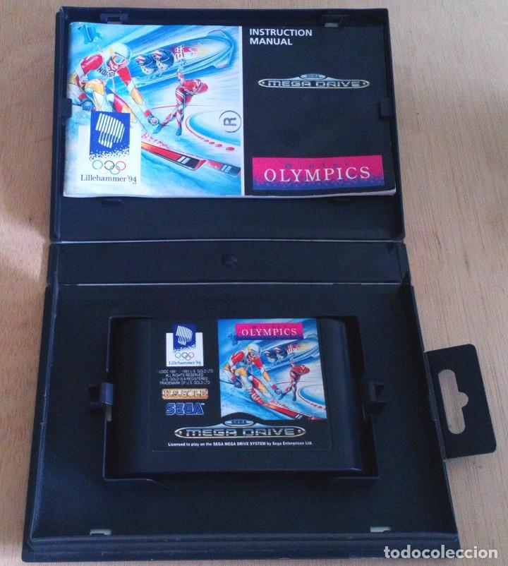 Videojuegos y Consolas: Winter Olympics / Juego Sega Mega Drive Megadrive / PAL / U. S. Gold 1993 - Foto 3 - 189366633