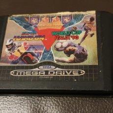 Videojuegos y Consolas: SEGA MEGA DRIVE SUPER HANG ON / WORLD CUP ITALIA '90 MEGADRIVE. Lote 189771216