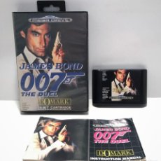 Videojuegos y Consolas: JAMES BOND 007 THE DUEL SEGA MEGA DRIVE. Lote 190204201