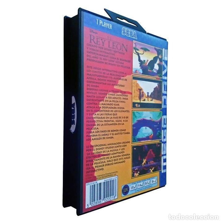Videojuegos y Consolas: El Rey León / Juego Sega Mega Drive Megadrive / PAL / Disney Virgin 1994 - Foto 2 - 190475528