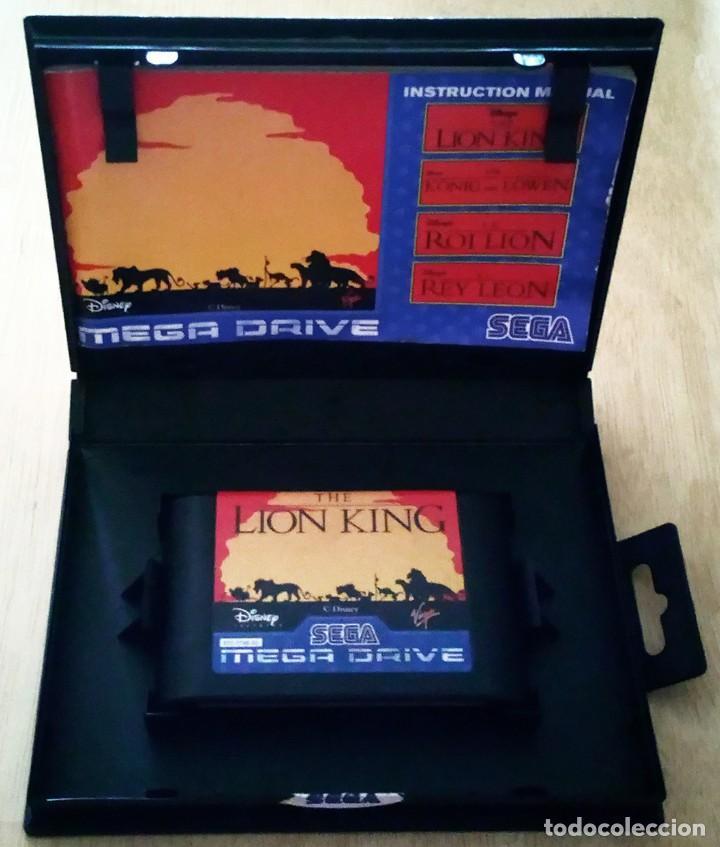 Videojuegos y Consolas: El Rey León / Juego Sega Mega Drive Megadrive / PAL / Disney Virgin 1994 - Foto 3 - 190475528