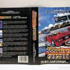 Jeux Vidéo et Consoles: CARATULA TURBO OUTRUN SEGA MEGA DRIVE. Lote 190589132