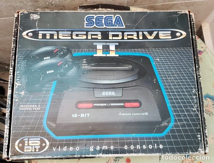 CONSOLA SEGA MEGA DRIVE 2 (Juguetes - Videojuegos y Consolas - Sega - MegaDrive)
