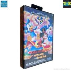 Videojuegos y Consolas: WORLD OF ILLUSION / JUEGO SEGA MEGA DRIVE MEGADRIVE / PAL / DISNEY 1992. Lote 191267036