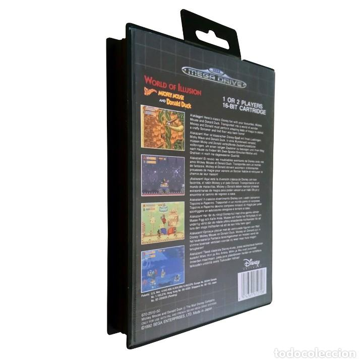 Videojuegos y Consolas: World of Illusion / Juego Sega Mega Drive Megadrive / PAL / Disney 1992 - Foto 2 - 191267036