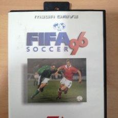 Videojuegos y Consolas: FIFA 96 SOCCER MEGADRIVE COMPLETO EN MUY BUEN ESTADO SEGA MEGA DRIVE. Lote 191449871