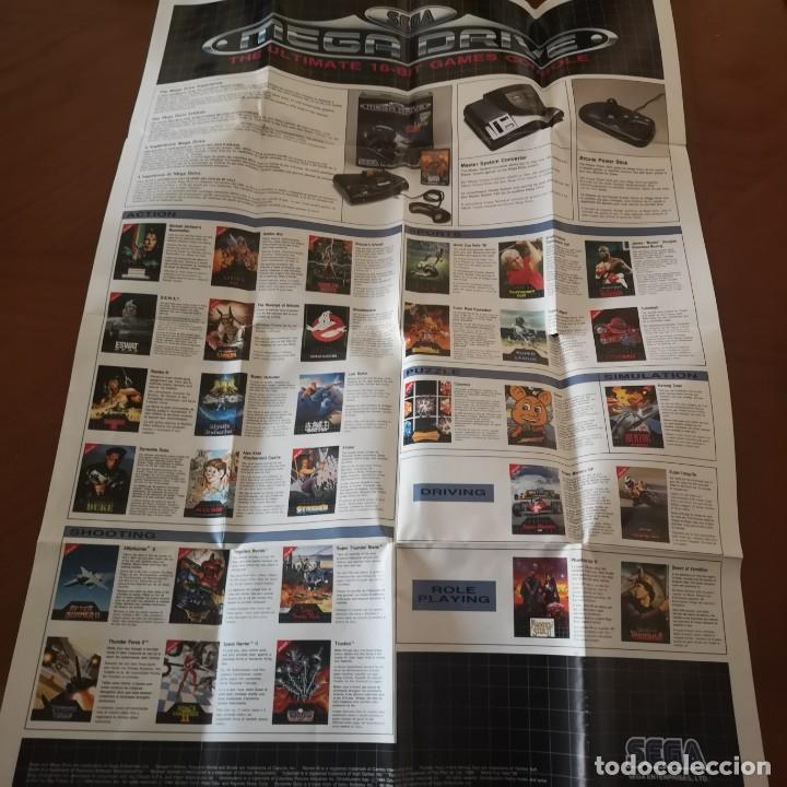 Videojuegos y Consolas: Poster publicidad sega megadrive, monaco gp - Foto 2 - 192243993